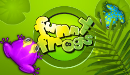 Funny Frogs Game